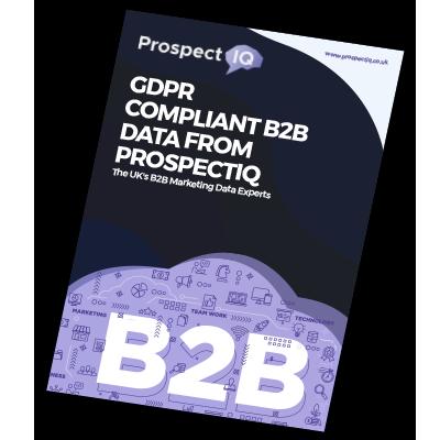 GDPR Compliant B2B Data From ProspectIQ